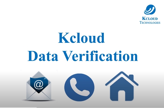 Make your data strong and secure with Kcloud Data verification application